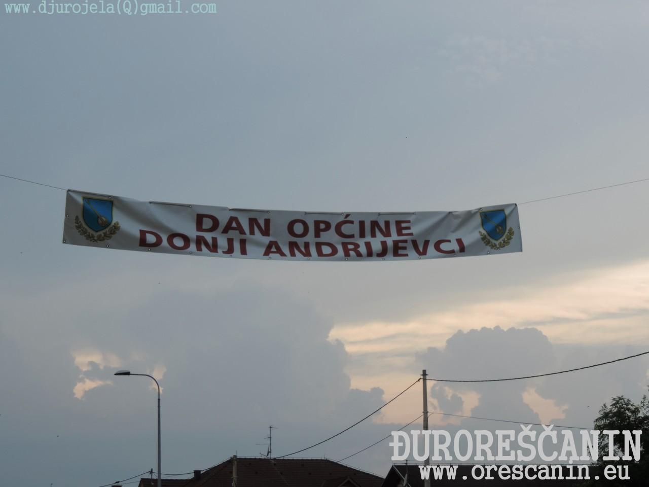 Donji Andrijevci  Dan opcine 2016
