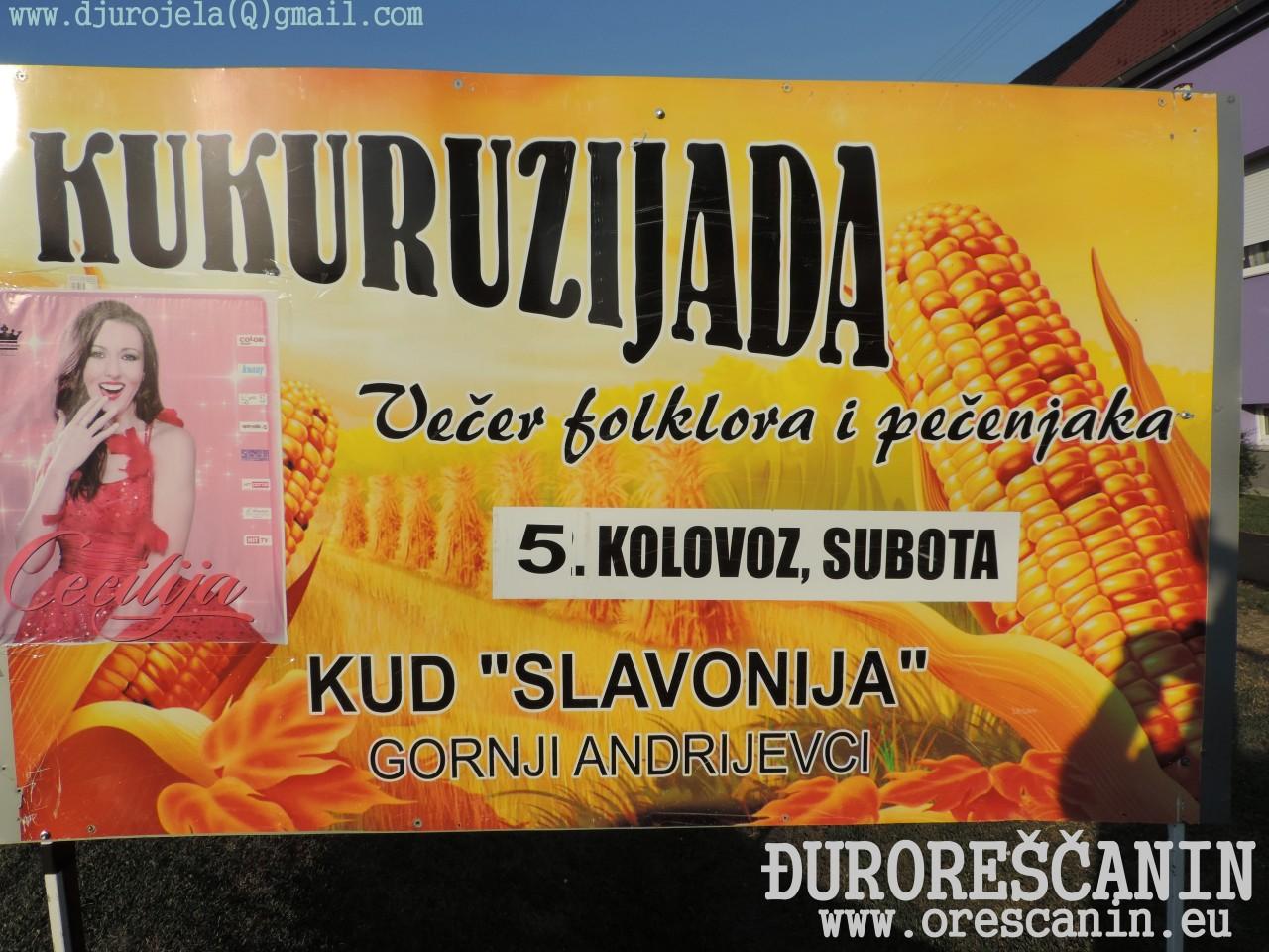 Gornji Andrijevci - Kukuruzijada 2017