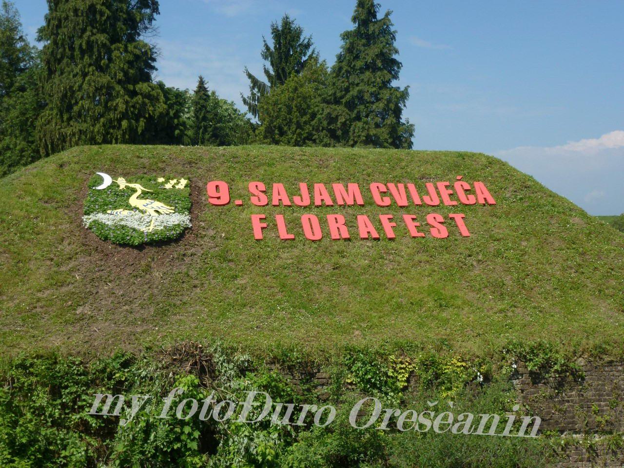 9 . Sajam cvijeca - Florafest  Sl . Brod  2016