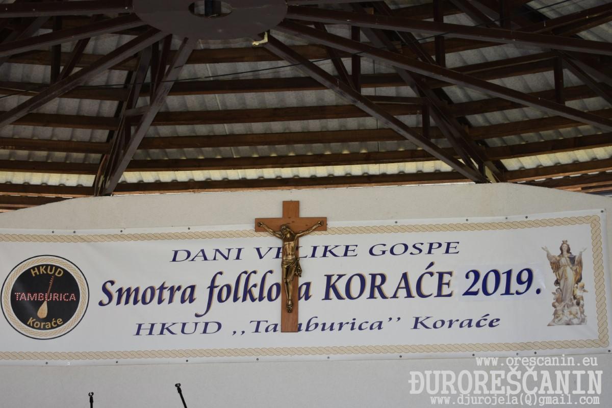 KORAĆE - DANI VELIKE GOSPE-Smotra folklora 2019