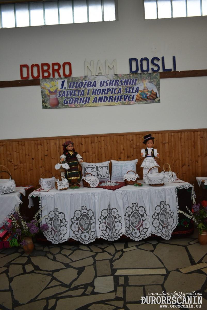 Gornji Andrijevci - 1.IZLOŽBA USKRSNI KORPICA 2019